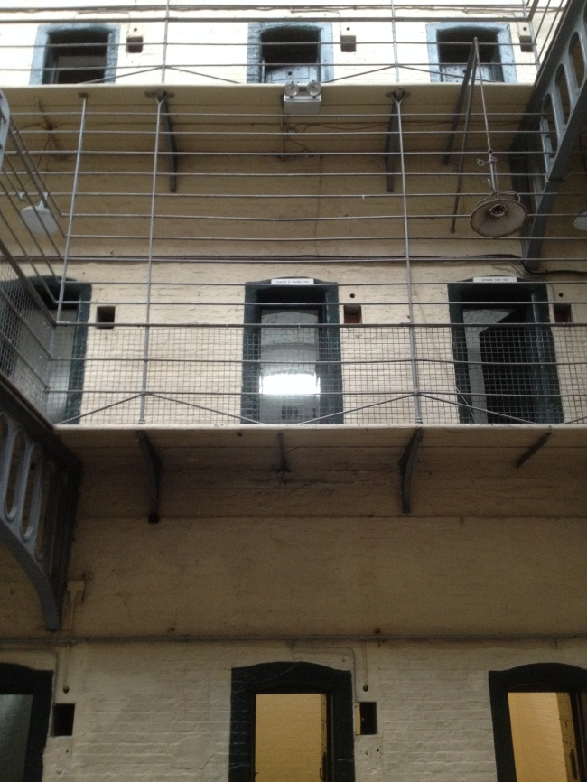 De Valera's cell in Kilmainham Gaol, May 1916