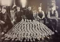 A munitions factory making hand grenades at Bailieboro, Co. Cavan