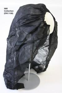 Veil used to Liam Mellows to escape Ireland, 1916 (NMI Collection EW.1108)
